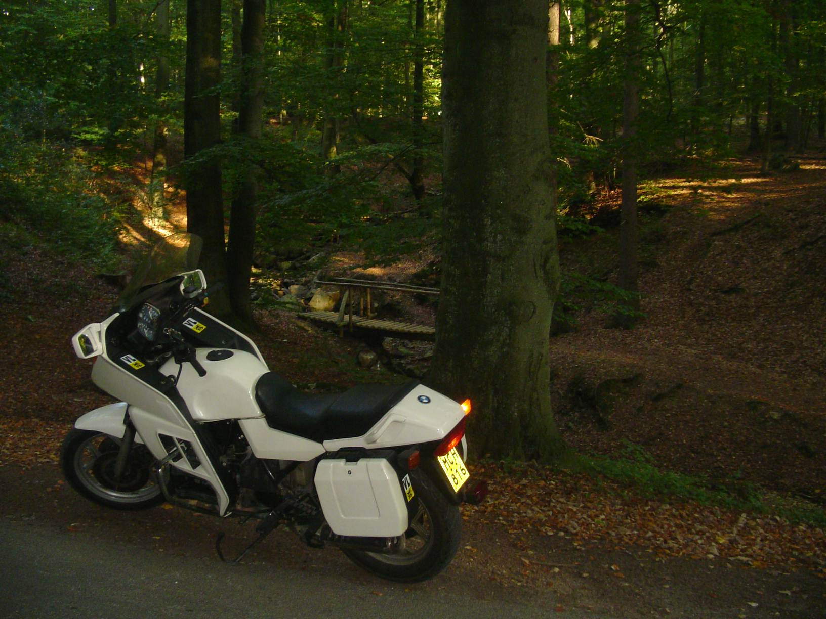 'Zwaantjes'-BMW-K75RT met